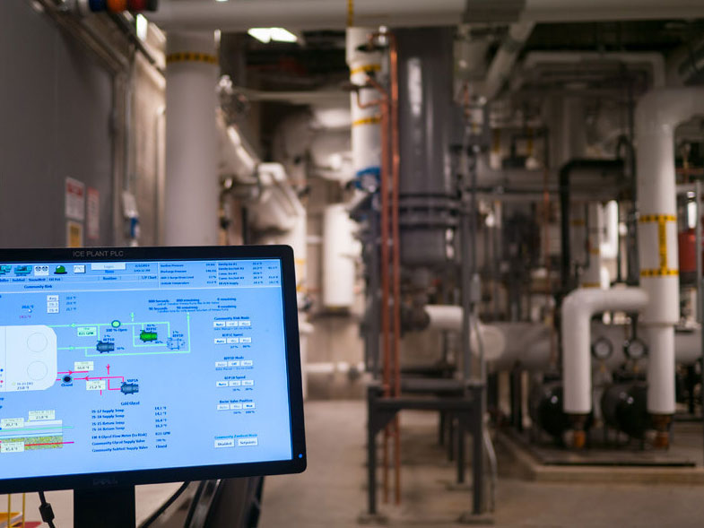 Control Panel Photo for Process Safety Management