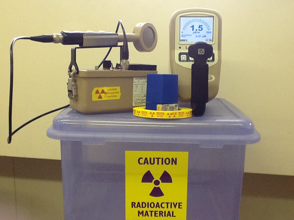 Radioactive monitoring equipment